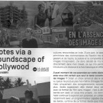 Interview in FID Marseille journal – July 2014