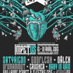 April 16 2015 – Amplified Souls live at Impetus Festival, Montbeliard, FR