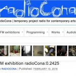 March 1st 2016 – radioCona:0.2425