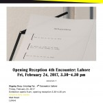 February 24 2017 – Exhibition opening, Alhamra Arts Center, Lahore
