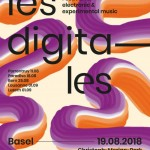 August 19th 2018 – Live performance at Festival Les Digitales, Basel