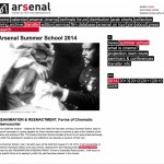 August 22-23 2014 Intervention at Arsenal Film Institute summer school, Berlin