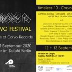 September 13 2020 – Corvo Timeless 10 Festival Berlin